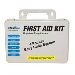 Think Safe Inc First Voice Deluxe First Aid Kit - Deluxe First Aid Kit