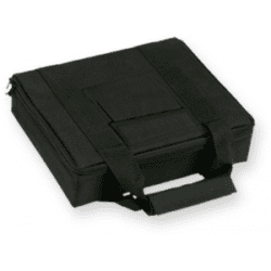 Bulldog 11 X 9 Inch Black Nylon Hard Sided Nylon 2 Pistol Case w/ Locking Zipper