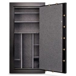 MESA MBF7236E 21.1 cu ft Gun Safe, 42 Gun Capacity All Steel Safe with Electronic Lock, Black