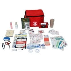 Think Safe Inc Premium Hiking And Outdoor First Aid Kit - Premium Hiking & Outdoor First Aid Kit