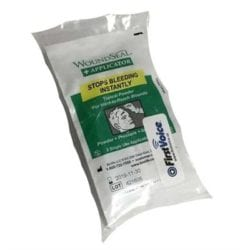 Think Safe Inc Woundseal Blood Clot Powder - Woundseal Powder With Applicator