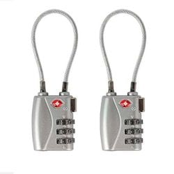Pelican Cable TSA Lock, 2-Pack