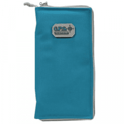 G-Outdoors Large Pistol Sleeve with Locking Zipper - Robin Egg Blue