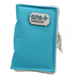 G-Outdoors Medium Pistol Sleeve with Locking Zipper - Robin Egg Blue