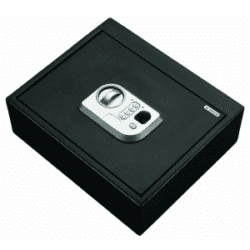 Stack-On Biometric Drawer Safe Black B-Lock