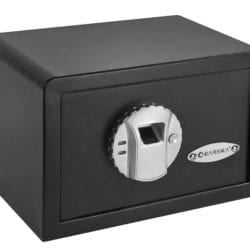 Barska Compact Biometric Safe, Size: Small, Black